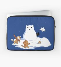 Snowcat Laptop Sleeve