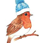 Robin with Beanie by Big-Pasach