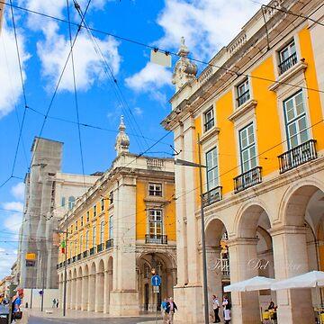 Praça do Comércio. Lisboa by terezadelpilar