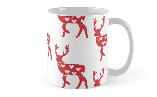 ?Nordic stag? Mug by CraftCartwright