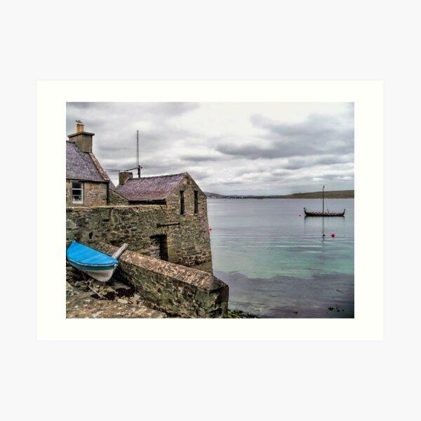 Shetland Lodberry Art Print