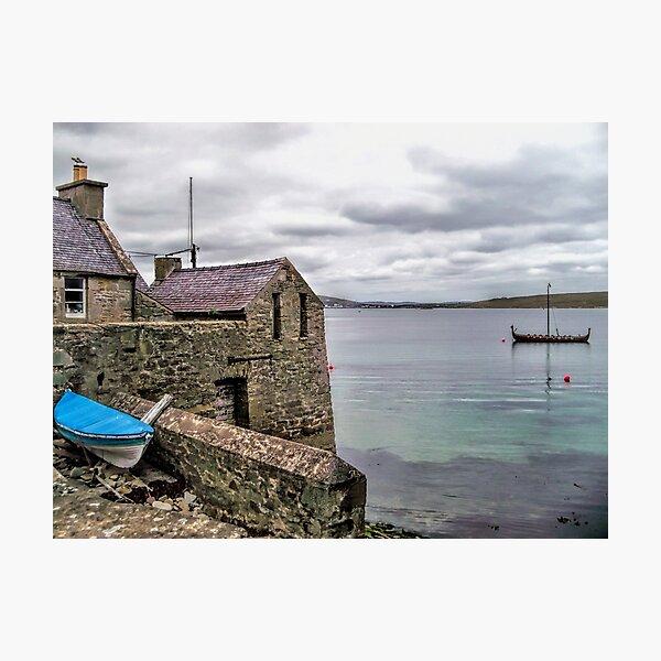 Shetland Lodberry Photographic Print