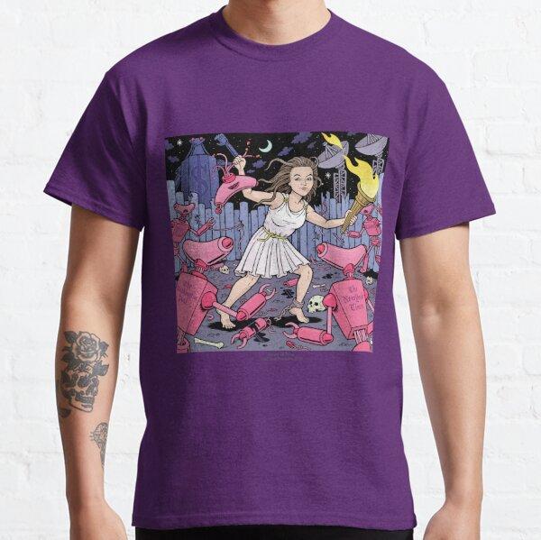 Caitlin Johnstone, Schurkenjournalist (Kunst von Danny Hellman) Classic T-Shirt