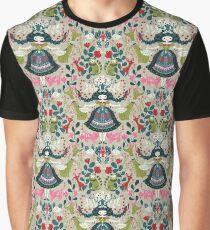 Scandinavian Girl Graphic T-Shirt