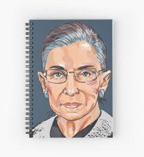 Supreme Court Justice Ruth Bader Ginsburg Spiral Notebook