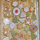 Christmas gingerbreads by Piotr Dulski