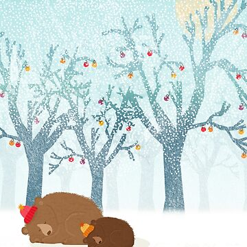 Sleeping winter by Kakel