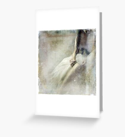 Coming Undone Greeting Card