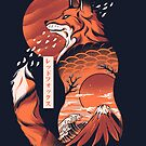 Japanese fox by Ilustrata Design