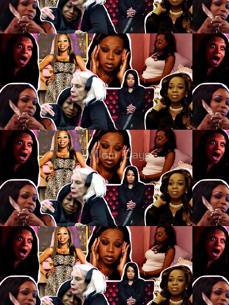 Tiffany Pollard, collage, montage, Flavorette, Celebrity memes, Reality tv, Puns, Banter, Jokes, Funny moments, Gift ideas, Good vibes by avit1