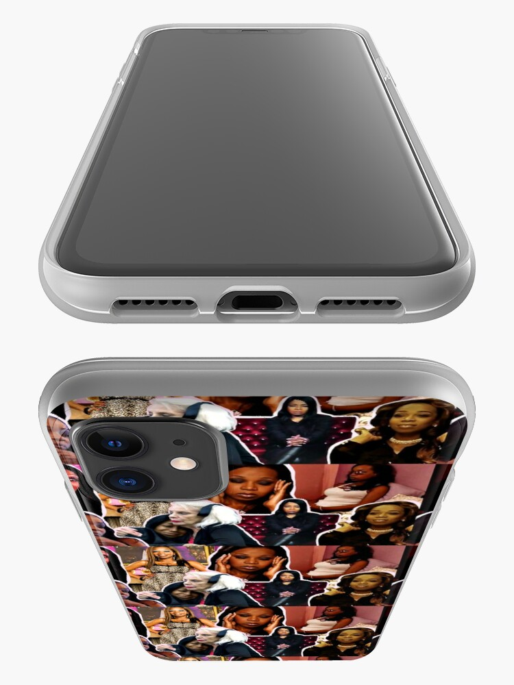Alternate view of Tiffany Pollard, collage, montage, Flavorette, Celebrity memes, Reality tv, Puns, Banter, Jokes, Funny moments, Gift ideas, Good vibes iPhone Case & Cover