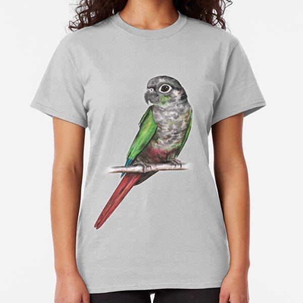 Green-cheeked conure Classic T-Shirt