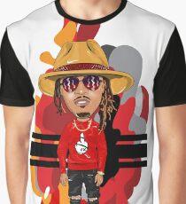 ICONIC SERIES: Young Hendrix Hip Hop Trap Splash and Brag Flex Graphic T-Shirt