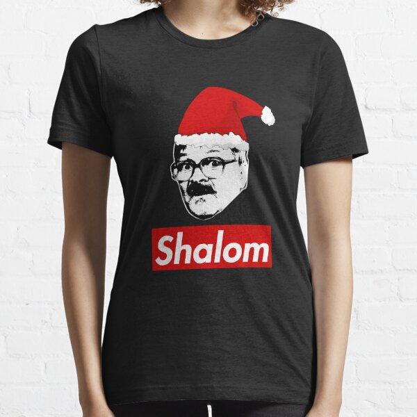 Christmas Shalom Friday Night Dinner  Essential T-Shirt