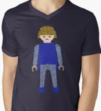 Playmobil V-Neck T-Shirt