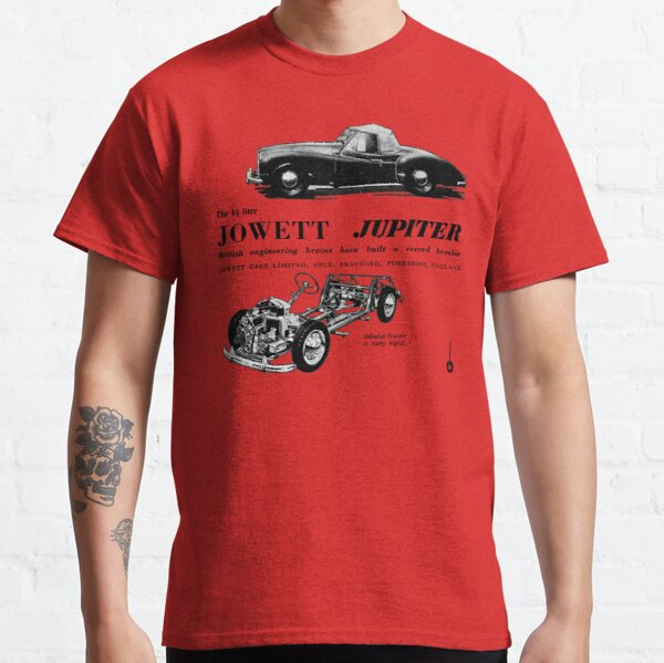 JOWETT JUPITER T-shirt classique