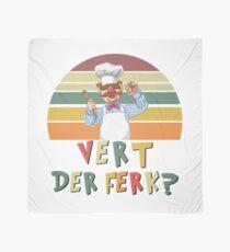 Retro Vintage Vert Der Ferk T-Shirt Vert Der Ferk Chef Knife Scarf