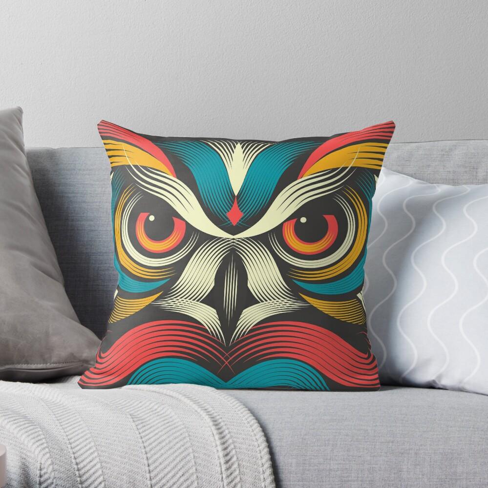 Sowl Throw Pillow
