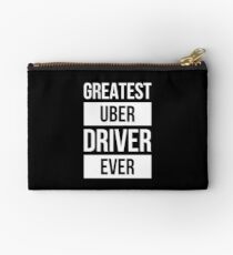 Greatest Uber Driver Ever Design Zipper Pouch