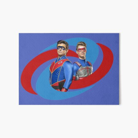 Capitán Man and Kid Danger - Logo Lámina rígida