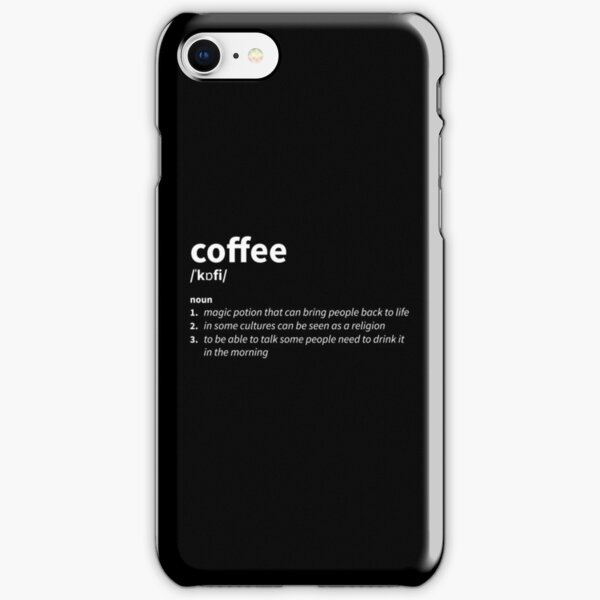 Coffee Definition iPhone Snap Case