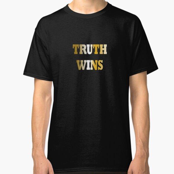 Truth wins - gold Classic T-Shirt