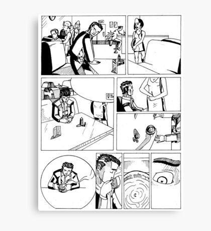 HSC Major Work Comic page 1 Canvas Print