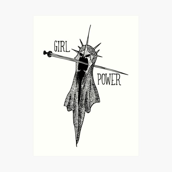 GIRL POWER! Art Print