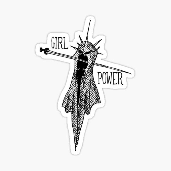 POUVOIR DES FILLES! Sticker