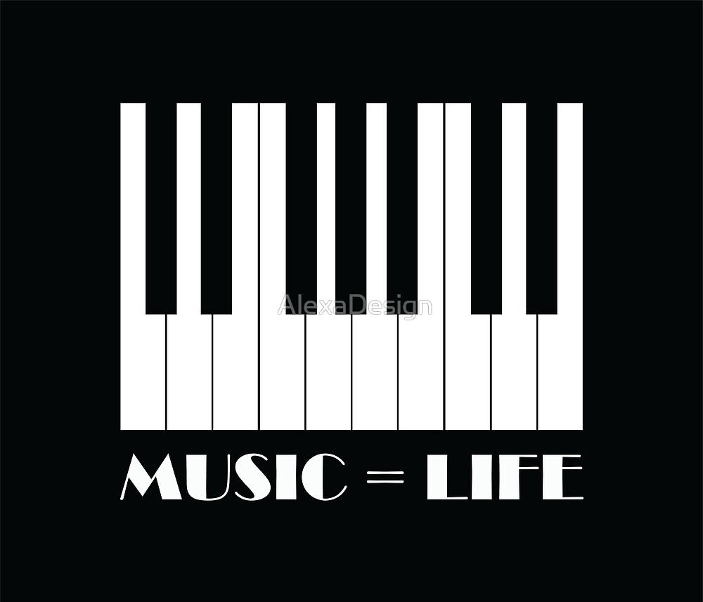 Music is life  by AlexaDesign