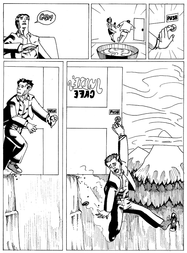 HSC Major Work Comic page 3 by Michael Lee