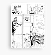 HSC Major Work Comic page 3 Metal Print