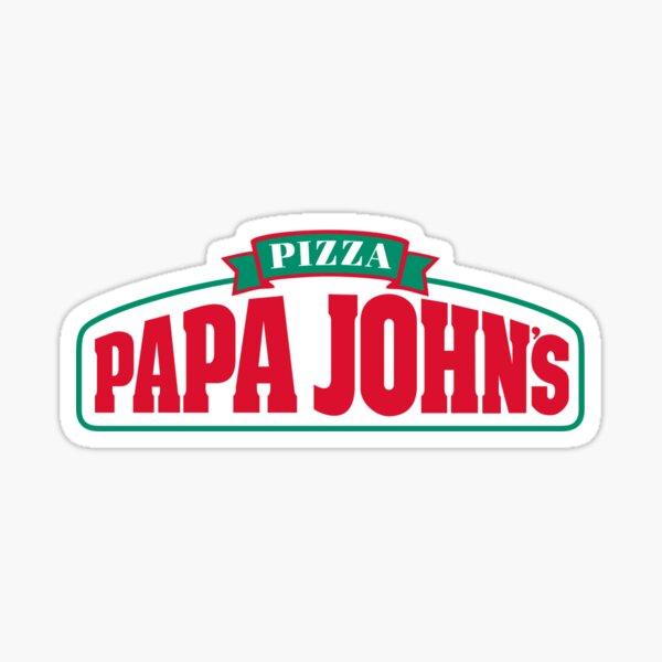Papa Johns logo  Sticker