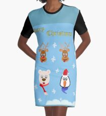 Merry Christmas!! Graphic T-Shirt Dress