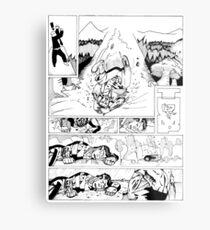 HSC Major Work Comic page 4 Metal Print