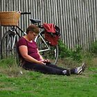 Chilling After The Parkrun by wiggyofipswich
