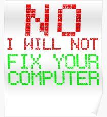 Informatik Code Computer Lustig Geschenk Poster