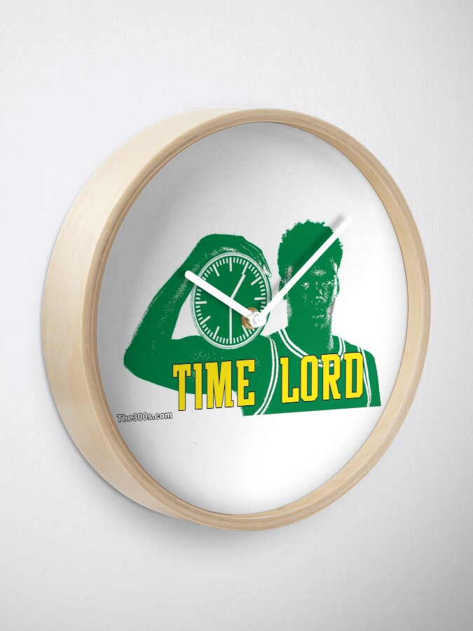 Alternate view of The Time Lord Clock
