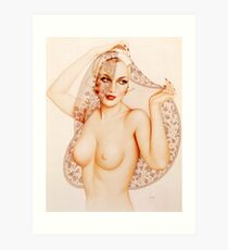 Alberto Vargas Pin Up Kunst Kunstdruck