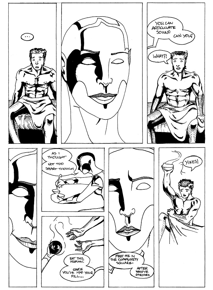 HSC Major Work Comic page 6 by Michael Lee
