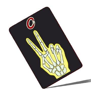 Kaiji Tonegawa Scissors Card by MaginStudios