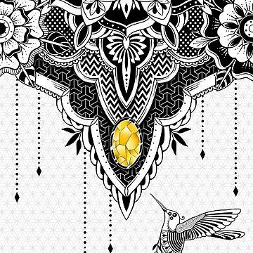 Hummingbird by GODZILLARGE