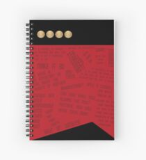 Captain Spiral Notebook