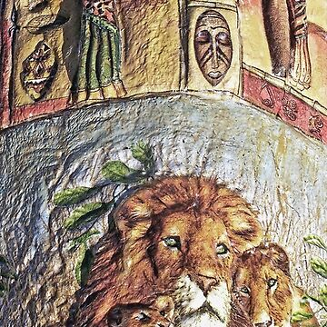 Le Roi Lion  My Creations Artistic Sculpture Relief fact Main   (c)(h) by Olao-Olavia / Okaio Créations collector 2005-2015 by caillaudolivier