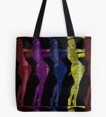 Babes on Blotters: Unlock Your Mind Tote Bag