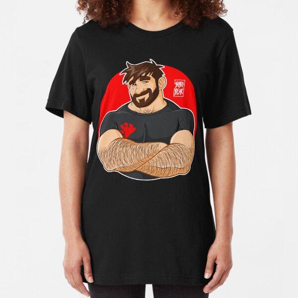 ADAM LIKES CROSSING ARMS Slim Fit T-Shirt