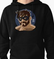 ADAM LIKES TO BE NAUGHTY Pullover Hoodie