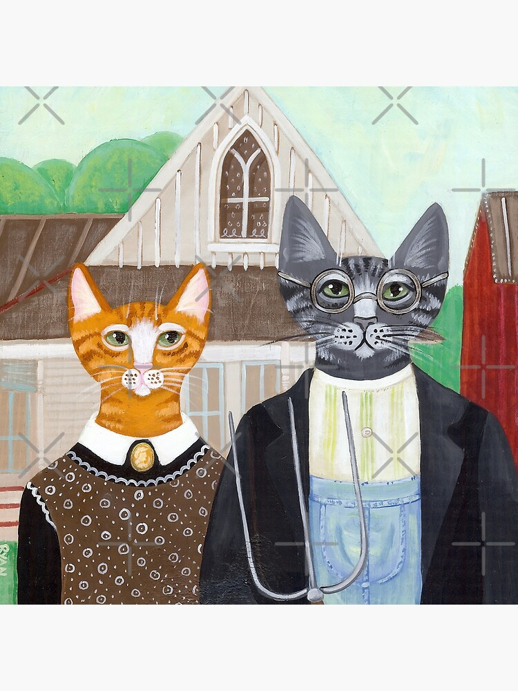Ameowican Gothic by kilkennycat
