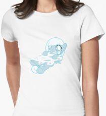 Snowdrop - Om Nom Nom Women's Fitted T-Shirt