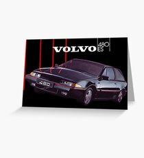 VOLVO 480 Greeting Card